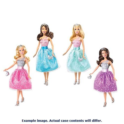 Barbie Princess Party Doll Case