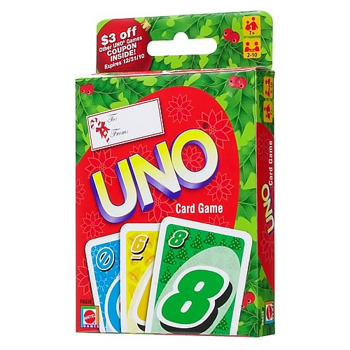 Holiday UNO Card Game