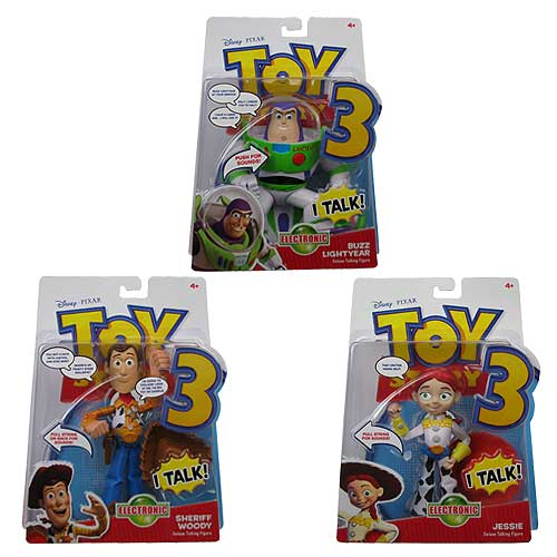 Toy Story 3 Talking Action Figures Wave 3 Assortment Set