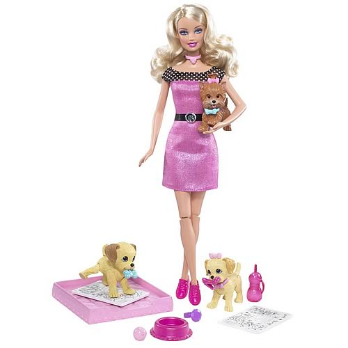 Barbie Potty Training Pups Dolls