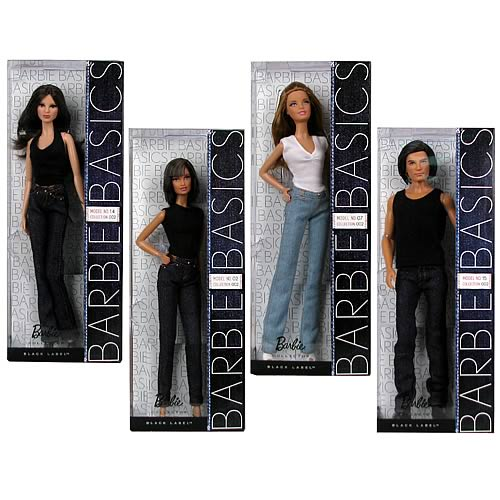 Barbie Basics Model Collection Doll Wave 2 Case