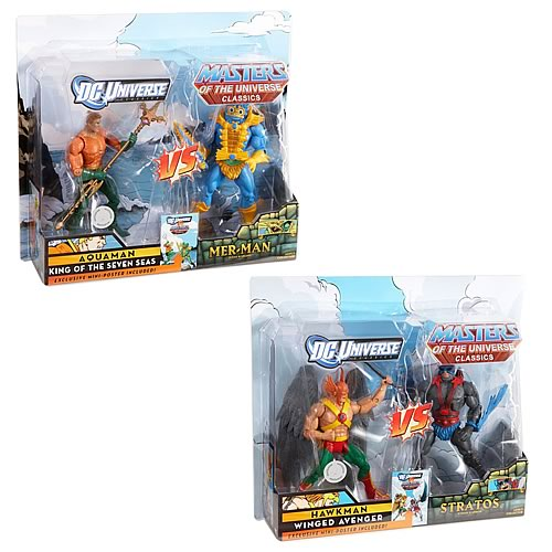 DCU vs. MOTU Wave 1 Action Figure 2-Pack Set