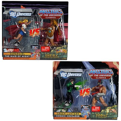 DCU vs. MOTU Wave 2 Action Figure 2-Pack Set
