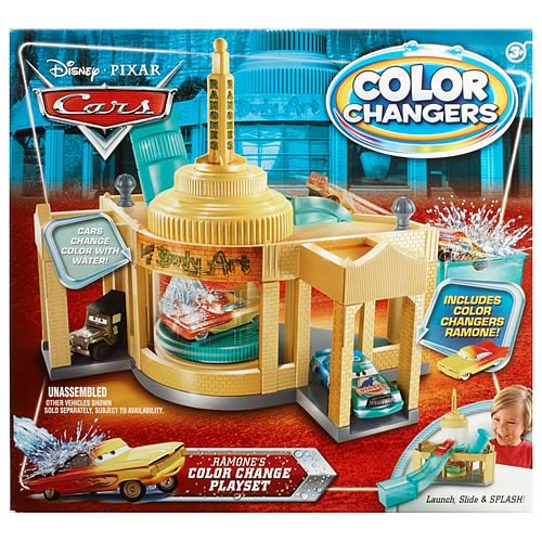 Pixar Cars Ramone Color Change Playset