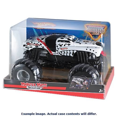 Hot Wheels Monster Jam 1:24 Scale Wave 6 Case