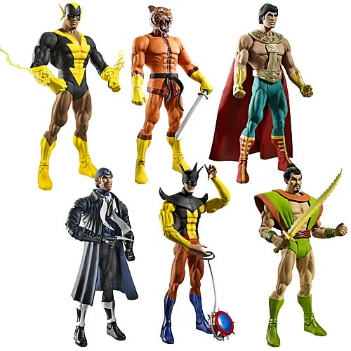 DC Universe Classics Wave 18 Revision 1 Action Figure Case