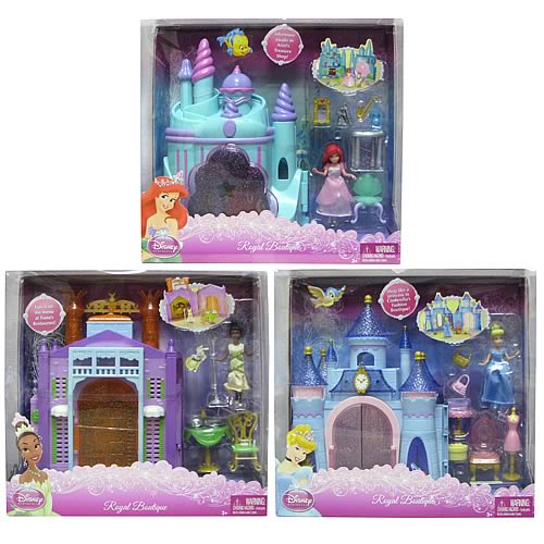 Disney Princess Royal Boutique Playset Assortment Case