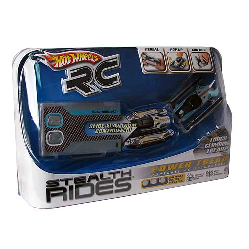 Hot Wheels Stealth Rides Mini Remote Control Tanks Case
