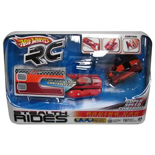 Hot Wheels Stealth Rides Mini Remote Control Cars Case