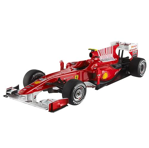 Hot Wheels Elite F Alonso Ferrari F10 1:18 Scale Vehicle