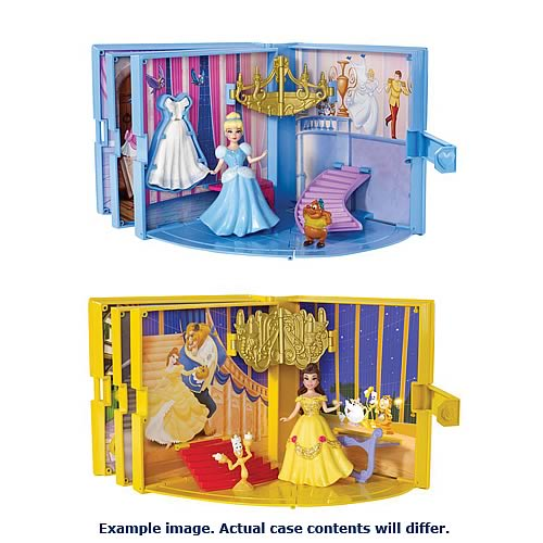 Disney Princess Storybook Playset Assortment Case