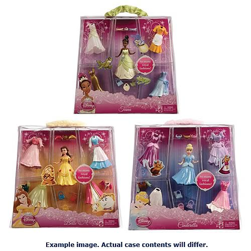 Disney Princess Favorite Moments Fashion Play Dolls Case