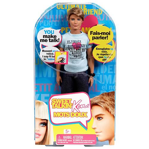 Barbie Sweet Talking Ken Doll