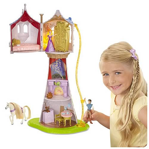 Disney Tangled Rapunzel's Magical Tower Playset
