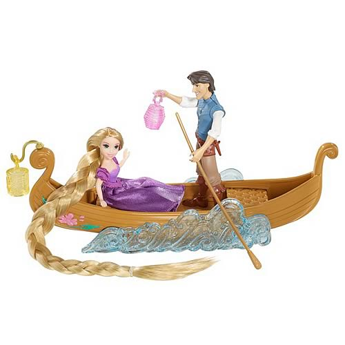 Disney Tangled Rapunzel's Boat Ride Gift Set
