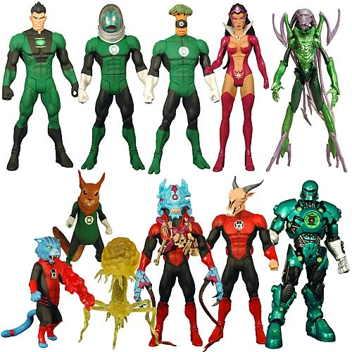 Green Lantern Classics Wave 2 Action Figure Case