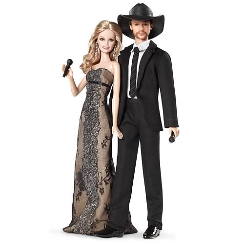 Barbie Tim McGraw and Faith Hill Dolls Giftset