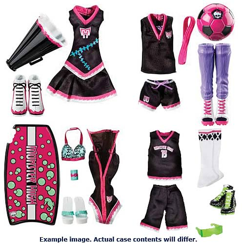 Monster High Scream Uniforms Wave 1 Case