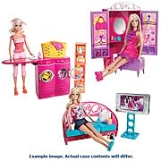 Barbie Furniture and Doll Case