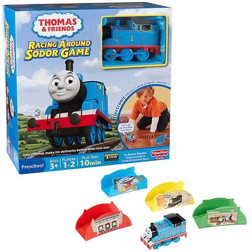 Thomas and Friends Racing Around Sodor Elecronic Game