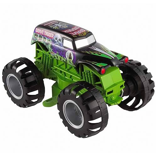 Hot Wheels Monster Jam Grave Digger Ultimate Stunt Jumper