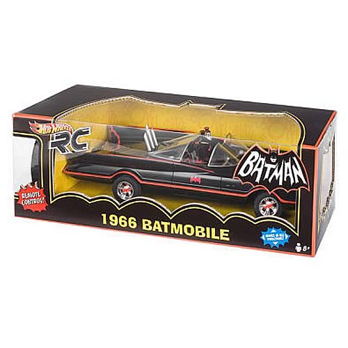 Batman 1966 TV Series Hot Wheels RC Batmobile Vehicle