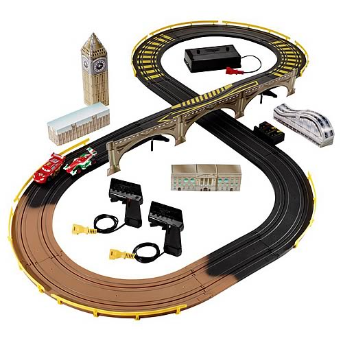 Cars 2 Remote London City Raceway Playset