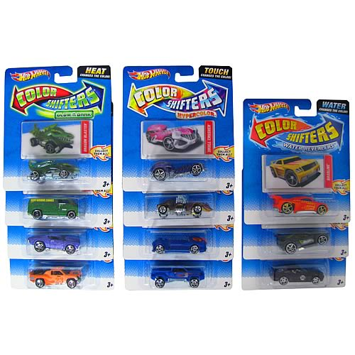 hot wheels color shifters vehicles case mattel hot. Black Bedroom Furniture Sets. Home Design Ideas