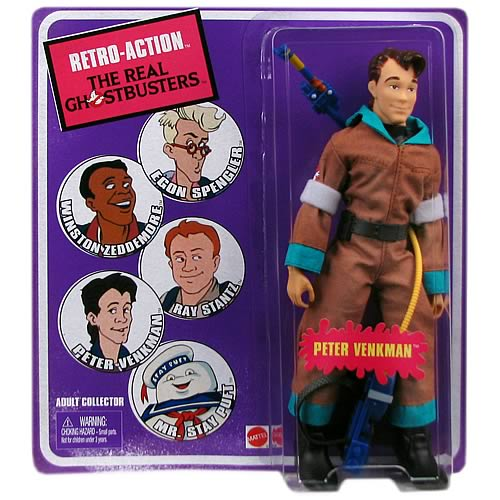 The Real Ghostbusters Retro-Action Peter Venkman Figure