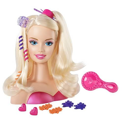 Barbie Styling Head Caucasian