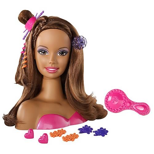 Barbie Styling Head (Brunette)