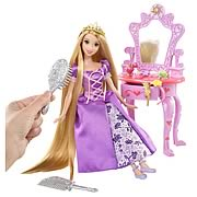 Disney Tangled Rapunzel Royal Vanity Playset and Accessories