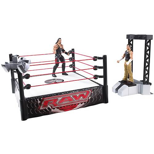WWE Launching Entrance Ring Playset