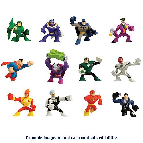 DC Universe Action League 2-Pack Mini-Figures Wave 4 Set
