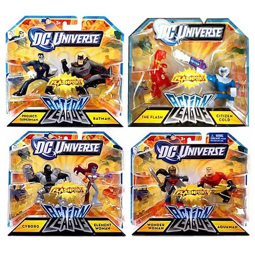 DC Universe Action League 2-Pack Mini-Figures Wave 5 Case