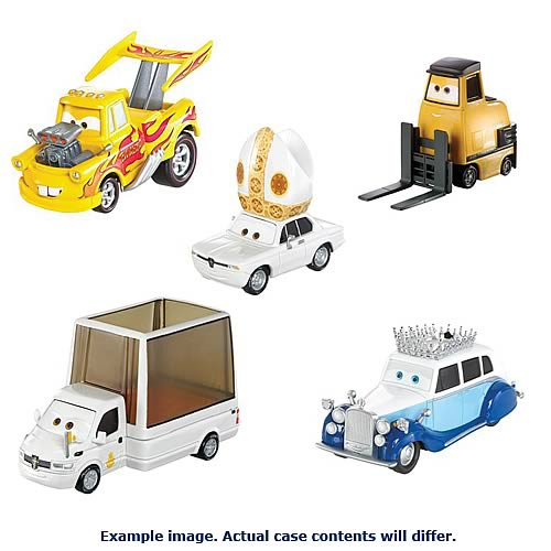 Cars 2 Oversized Die-Cast Vehicles Wave 3 Case