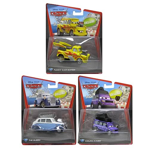 Cars 2 Oversized Die-Cast Vehicles Wave 4 Case