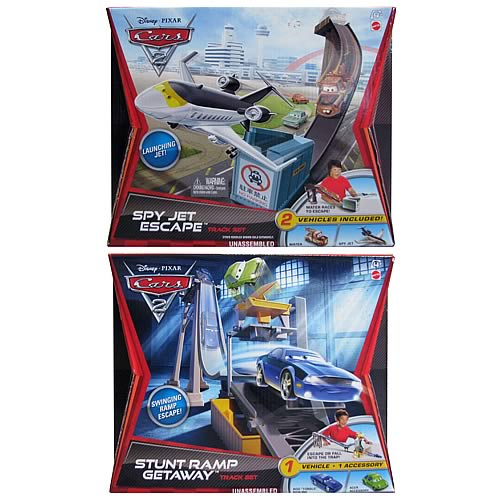 Cars 2  Basic Track Set  Case