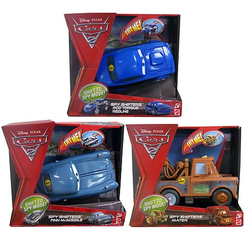 Cars Spy Shifters Vehicles Wave 1 Case