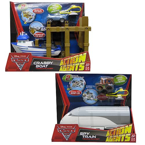 Cars 2 Action Agents Playset Wave 1 Case