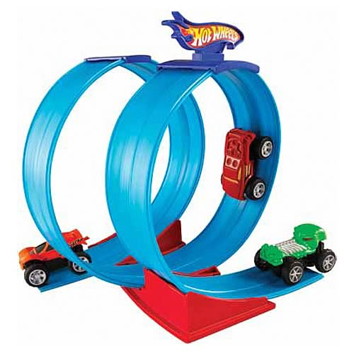 Hot Wheels Rev Ups Super Loop Action Playset