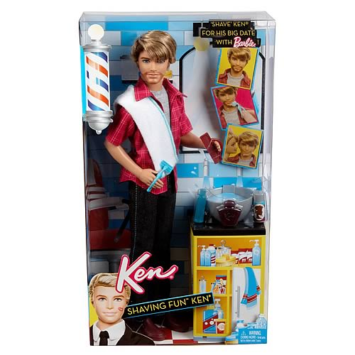 Barbie Ken Shaving Fun Doll