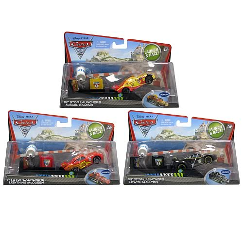 Cars Pit Stop Launchers Wave 1