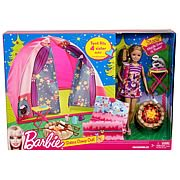 Barbie Sisters Camp Out Tent Playset