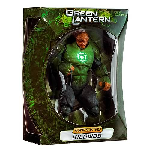 Green Lantern Movie Masters Kilowog SDCC 2011 Figure