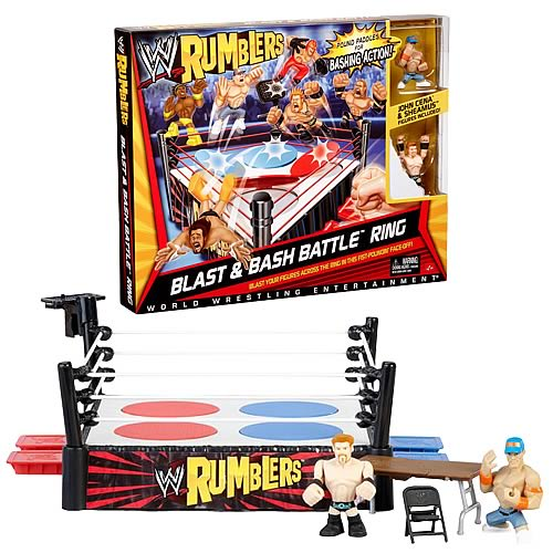 WWE Rumblers Blast  Bash Battle Ring Playset