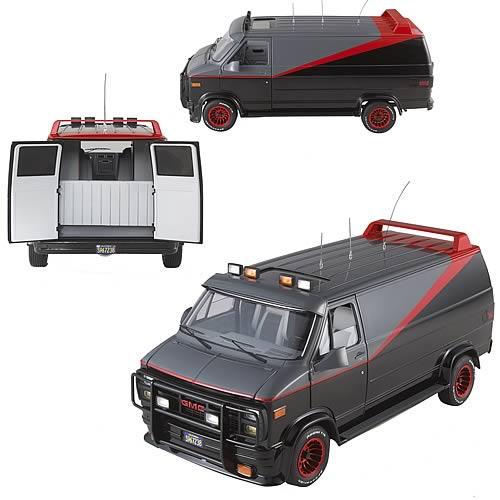 A-Team Classic Van Hot Wheels Elite 1:18 Scale Vehicle