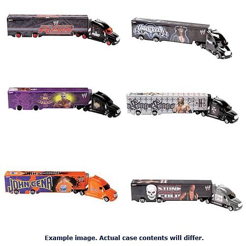 Hot Wheels WWE Haulers Assortment Case