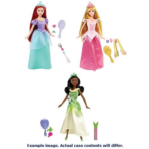 Disney Princess Hair Styling Assortment Case