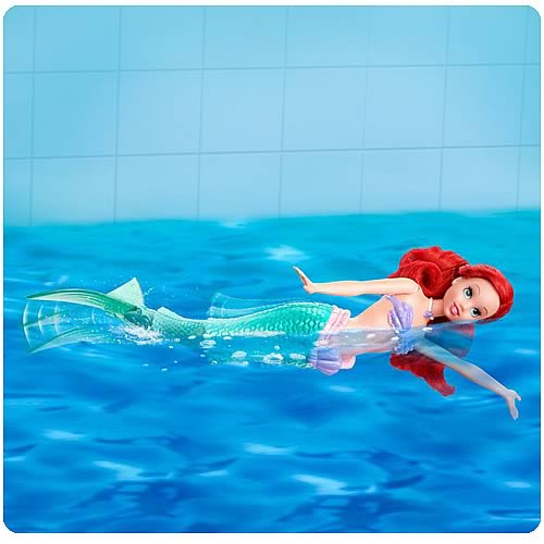 Disney Princess Swimming Ariel Doll